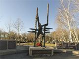 Сквер памяти земляков, погибших в боях при исполнении воинского долга
